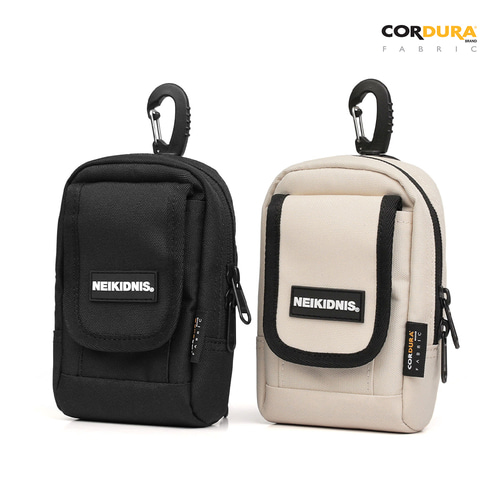 CORDURA SHOULDER POUCH / BLACK