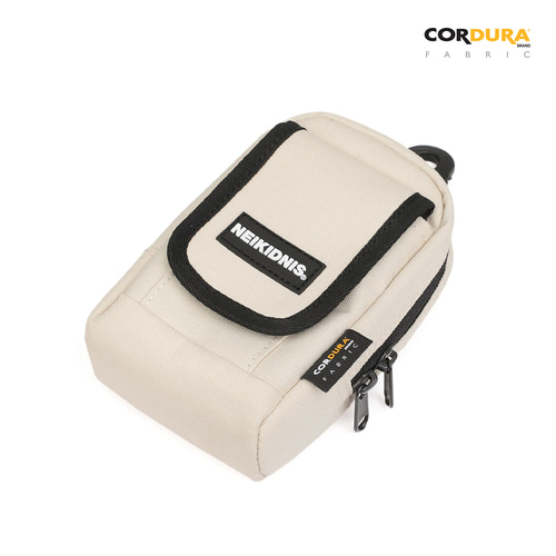 CORDURA SHOULDER POUCH / LIGHT BEIGE