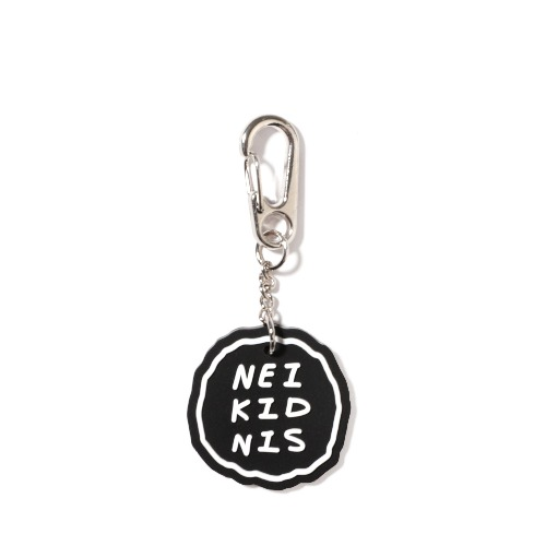 CAKE LOGO RUBBER KEY RING / BLACK
